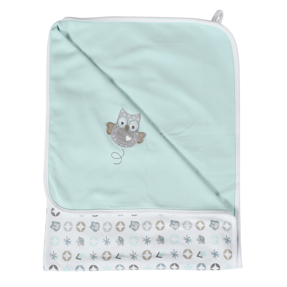 Afb: Baby multidoek Owl Family