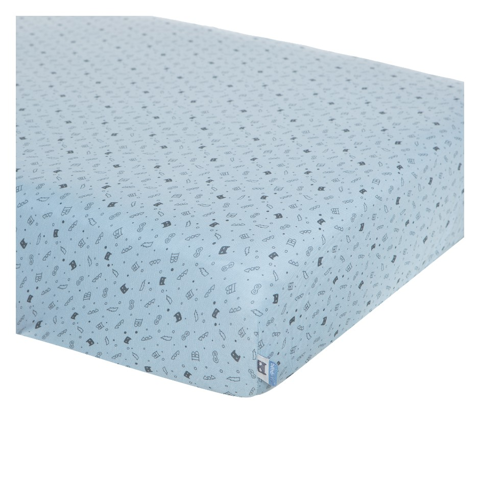 Afb: Fitted crib sheet  40x80 cm - Fitted crib sheet 40x80 cm Hero