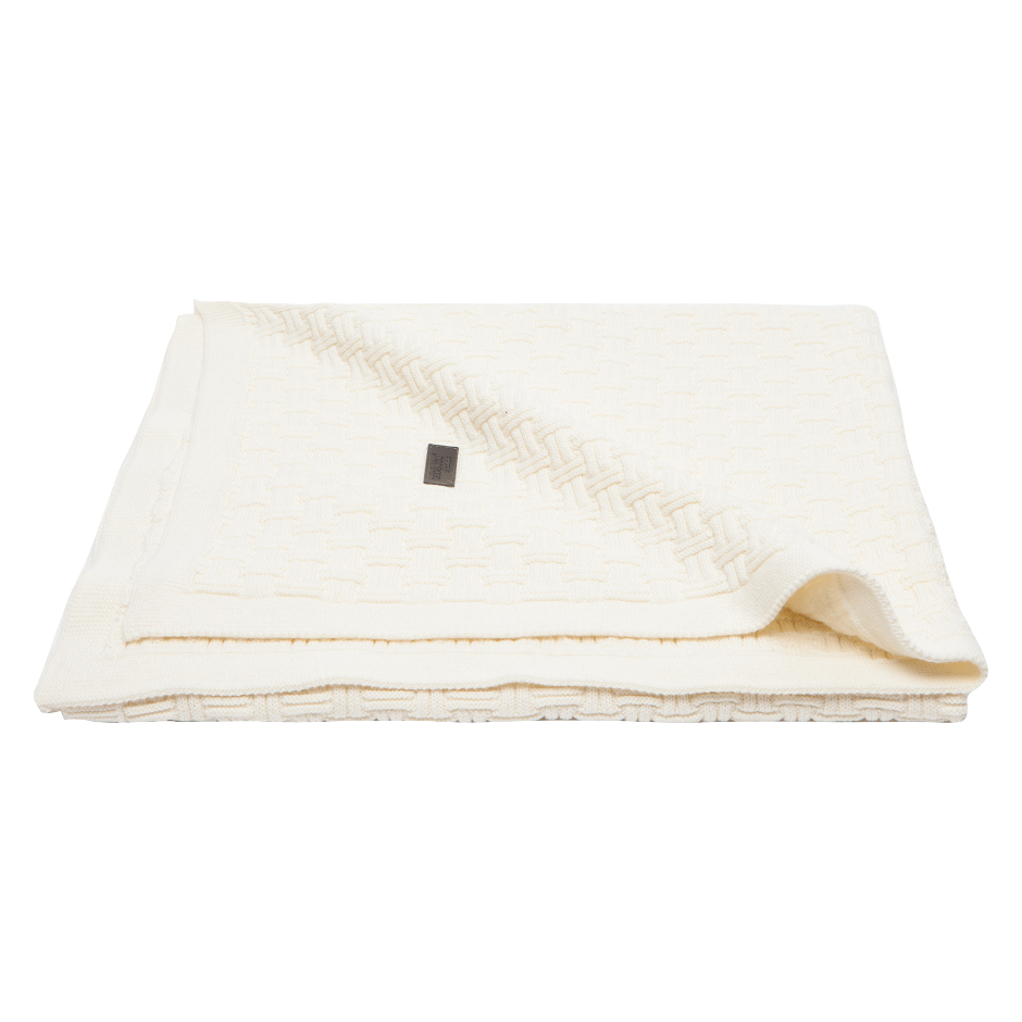Afb: Baby bed blanket Mira 90x140 cm Fabulous Shadow White