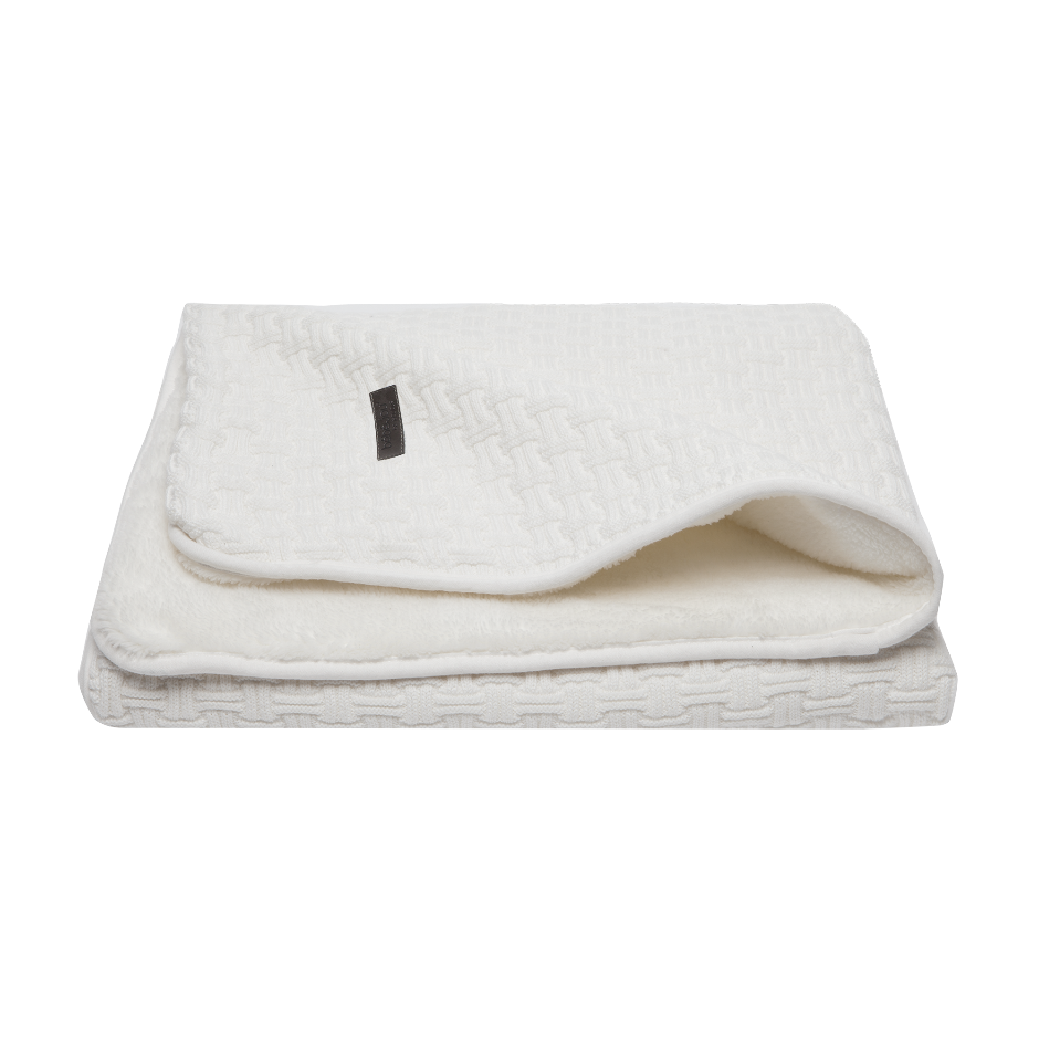 Afb: Baby bed blanket Mori 90x140 cm Fabulous - Baby bed blanket Mori 90x140 cm Fabulous Shadow White